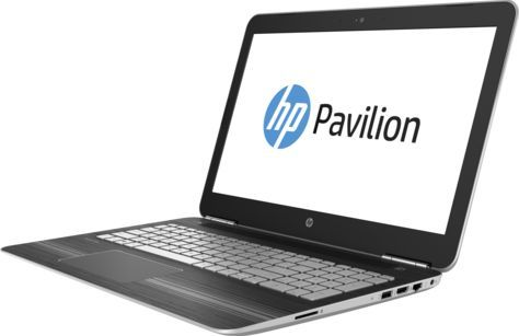"Ноутбук HP Pavilion 15-bc202ur, 15.6"", Intel  Core i7  7700HQ 2.8ГГц, 12Гб, 1000Гб, 256Гб SSD,  nVidia GeForce  GTX 1050 - 4096 Мб, Windows 10, 1DM83EA,  серебристый"
