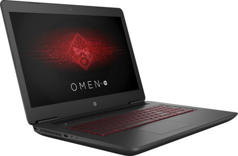 "Ноутбук HP Omen 17-w205ur, 17.3"", Intel  Core i7  7700HQ 2.8ГГц, 12Гб, 1000Гб, 256Гб SSD,  nVidia GeForce  GTX 1060 - 6144 Мб, Windows 10, 1DM95EA,  черный"