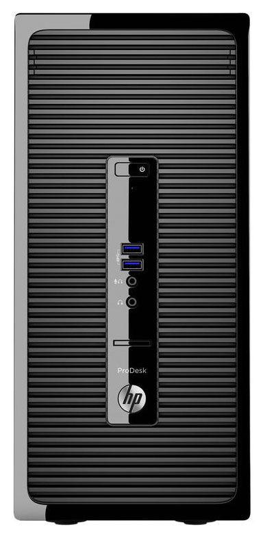 Комплект HP ProDesk 400 G3 MT i3 6100/4Gb/1Tb/DVDRW/W10Pro64/kb/m/черный/монитор в комплекте V213a [1ex74es]