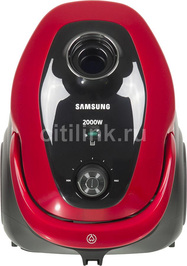 Пылесос Samsung VC20M257AWR 2000Вт красный (отремонтированный)