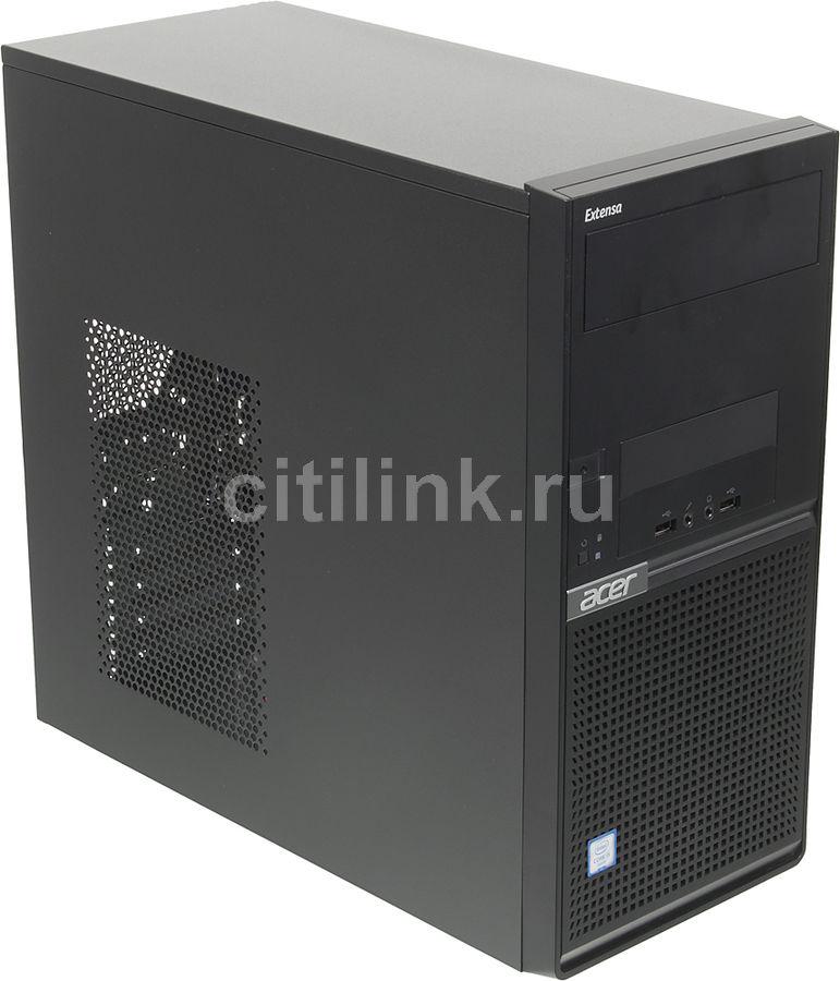 Компьютер  ACER Extensa EM2710,  Intel  Core i3  6100,  DDR4 4Гб, 1000Гб,  Intel HD Graphics 530,  Free DOS,  черный [dt.x0ter.015]