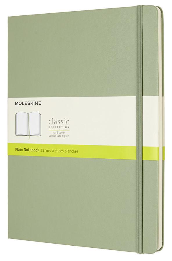 Блокнот Moleskine CLASSIC XLarge 190х250мм 192стр. нелинованный твердая обложка зеленый