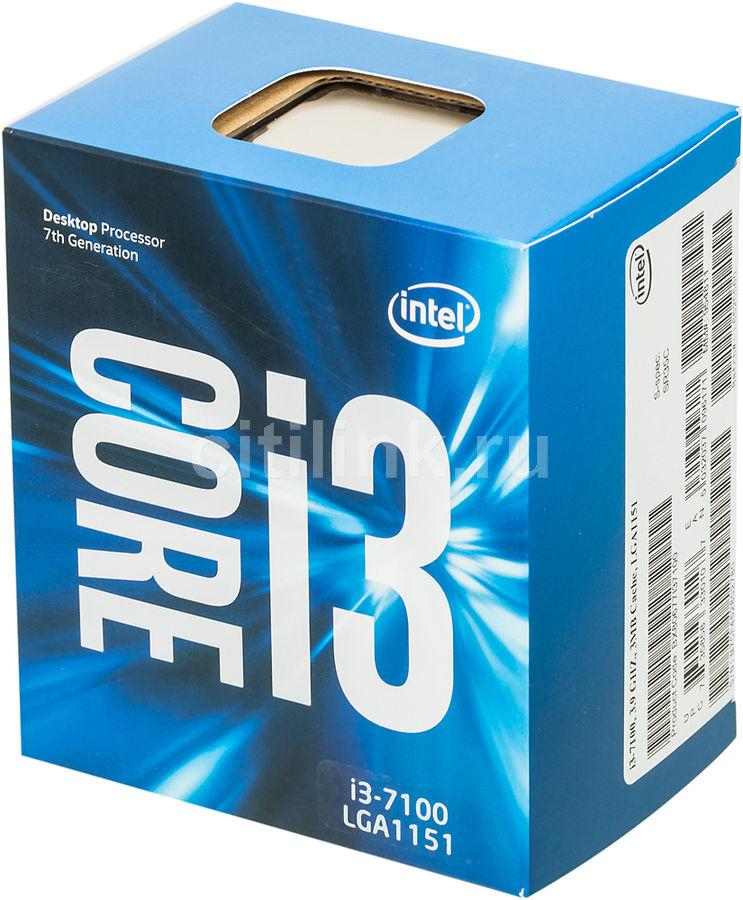 Процессор INTEL Core i3 7100, LGA 1151 BOX