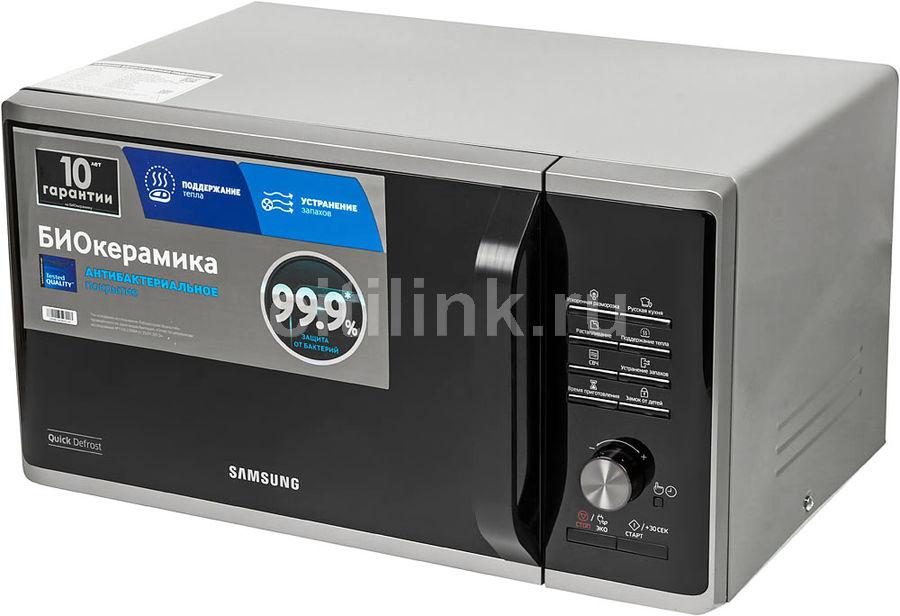 Микроволновая Печь Samsung MS23K3515AS 23л. 800Вт серебристый (отремонтированный)