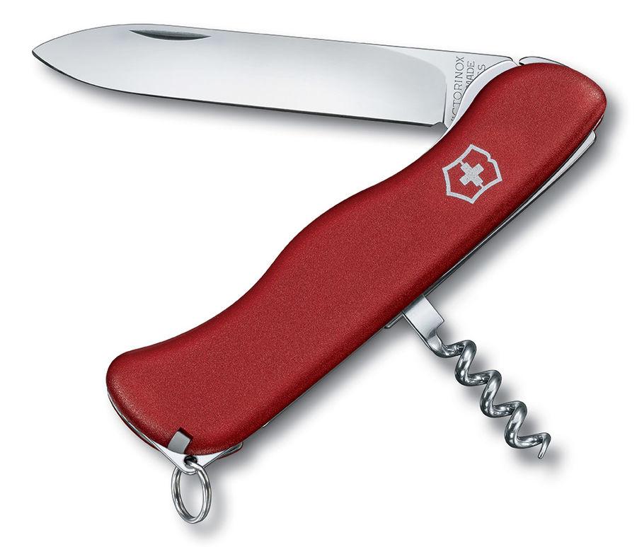 Складной нож VICTORINOX ALPINEER, 5 функций,  111мм, красный  [0.8323]