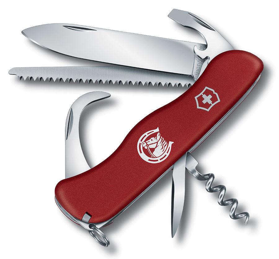 Нож перочинный Victorinox EQUESTRIAN (0.8583) 111мм 12функций красный