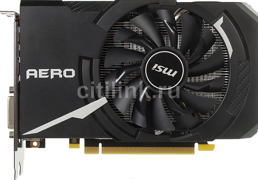 Видеокарта MSI nVidia  GeForce GTX 1060 ,  GeForce GTX 1060 AERO ITX 3G OC,  3Гб, GDDR5, OC,  Ret