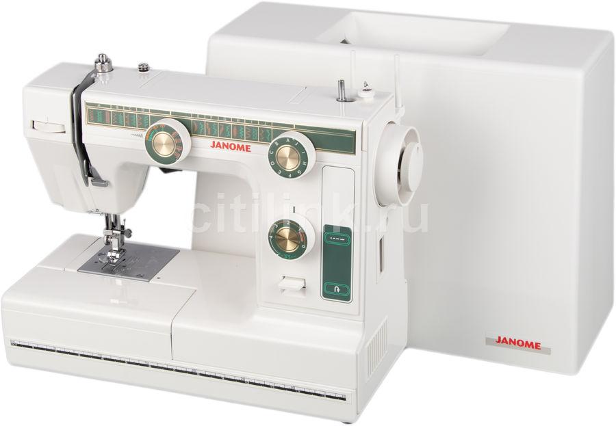 Швейная машина JANOME L-394 белый