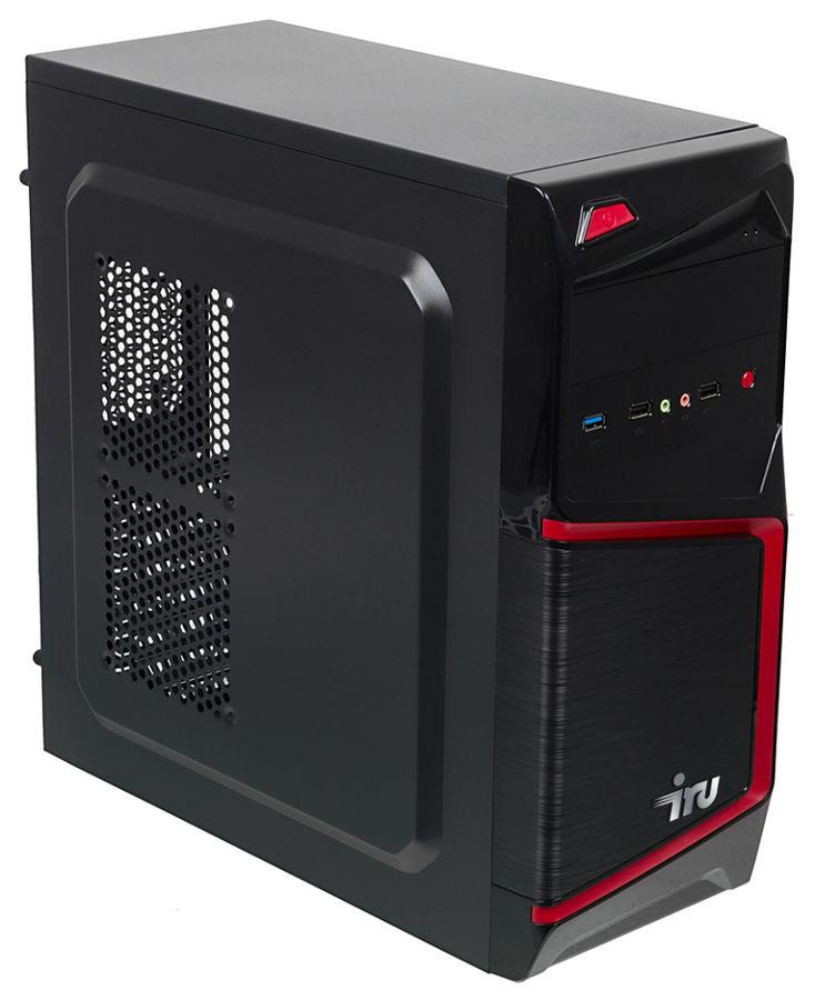 Компьютер  IRU Home 320,  AMD  FX  4300,  DDR3 4Гб, 1Тб,  NVIDIA GeForce GTX 1050 - 2048 Мб,  Free DOS,  черный [433483]
