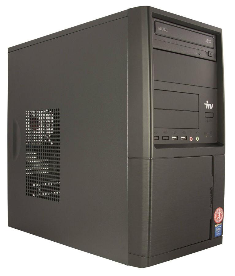 Компьютер  IRU Home 310,  Intel  Core i3  7100,  DDR4 8Гб, 1Тб,  NVIDIA GeForce GT730 - 2048 Мб,  DVD-RW,  Windows 10 Home,  черный [435202]