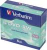 Оптический диск DVD-RW VERBATIM 4.7Гб 4x, 5шт., jewel case [43285] вид 1