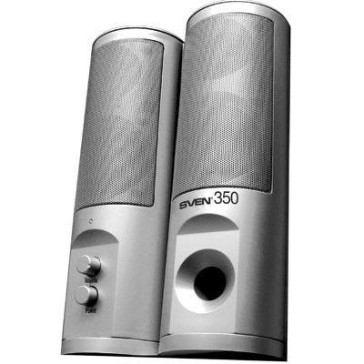 Колонки SVEN 350,  серебристый [sv-0110350]