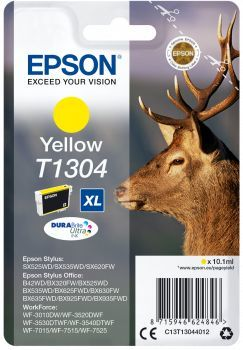 Картридж EPSON T1304 желтый [c13t13044012]