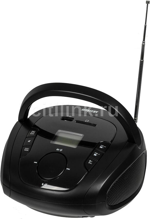 Аудиомагнитола MYSTERY BM-6008UB,  черный