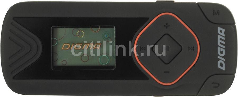 MP3 плеер DIGMA R3 flash 8Гб черный [r3bk]