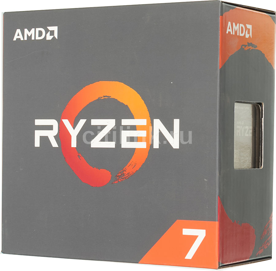 Процессор AMD Ryzen 7 1700X, SocketAM4 BOX [yd170xbcaewof] rui long amd ryzen 7 1700x процессор 8 ядерный интерфейс am4 3 4 ггц в штучной упаковке