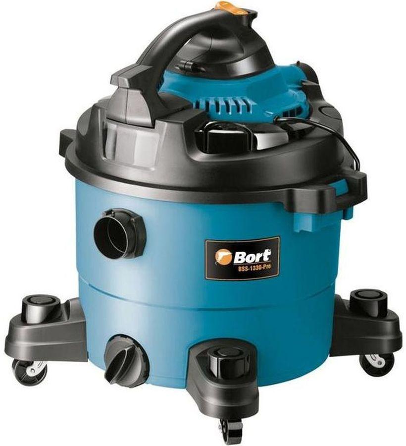 Строительный пылесос BORT BSS-1330-Pro синий [98291803]