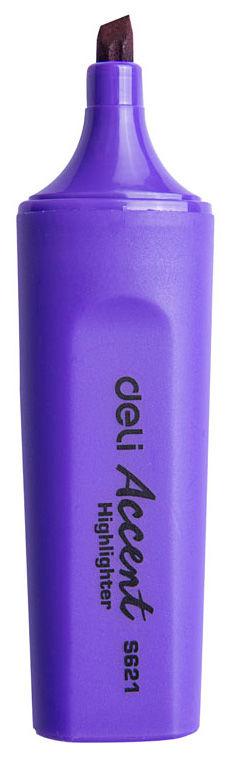 Текстовыделитель Deli ES621violet Delight скошенный пиш. наконечник 1-5мм фиолетовый