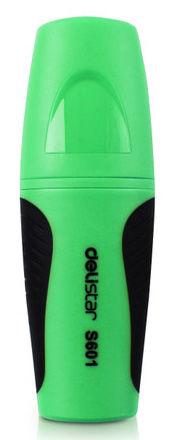 Текстовыделитель Deli ES601green Delight pocket скошенный пиш. наконечник 1-5мм укороченный зеленый