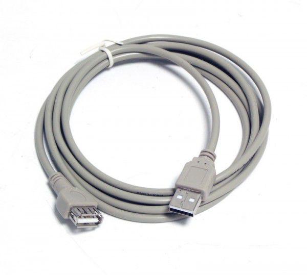 Кабель-удлинитель USB2.0  USB A (m) -  USB A (f),  3м