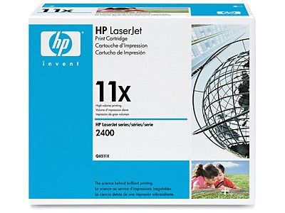 Картридж HP Q6511X, черный