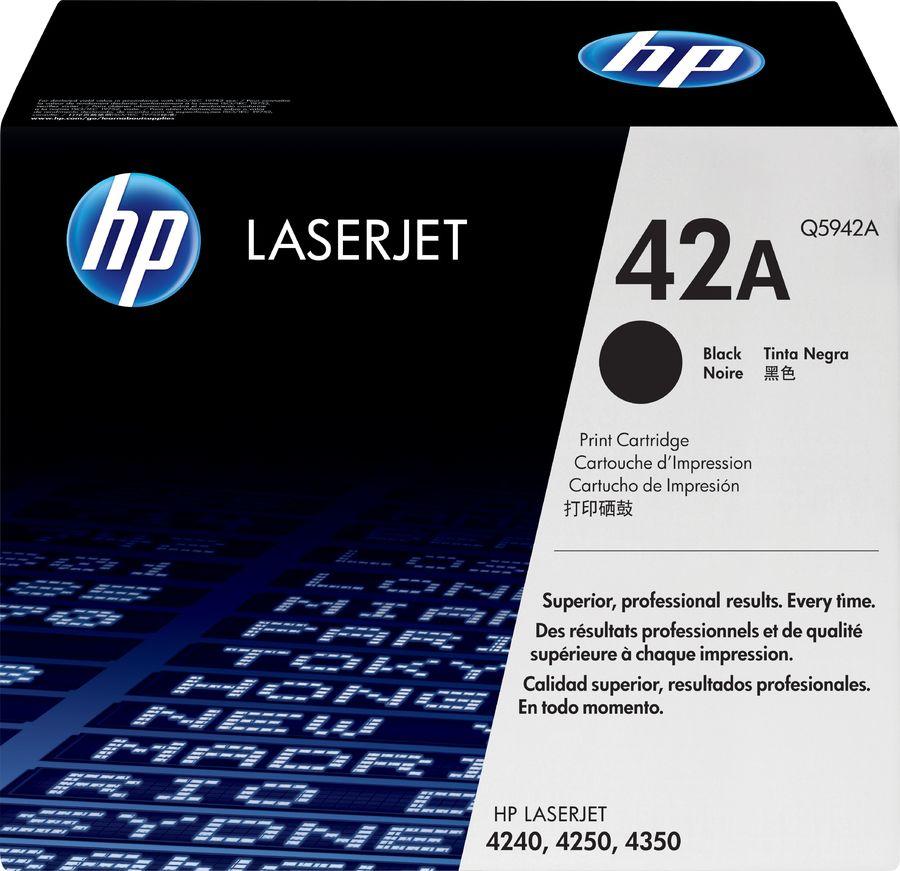 Картридж HP Q5942A черный