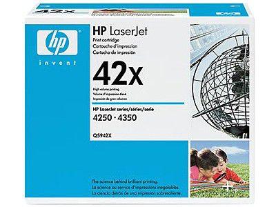 Картридж HP Q5942X черный