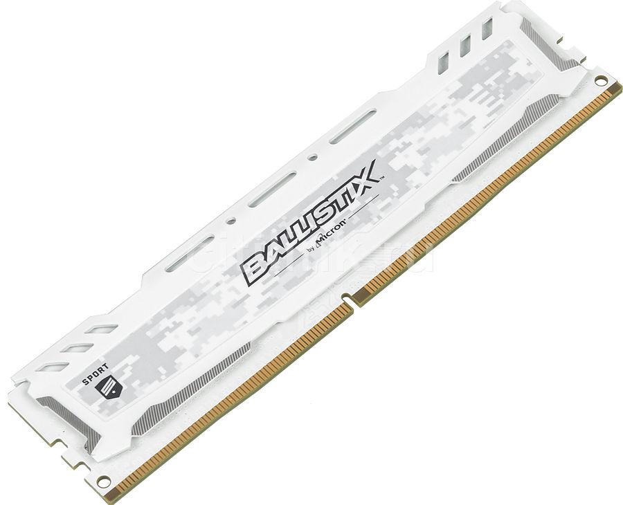 Модуль памяти CRUCIAL Ballistix Sport LT BLS4G4D26BFSC DDR4 -  4Гб 2666, DIMM,  Ret
