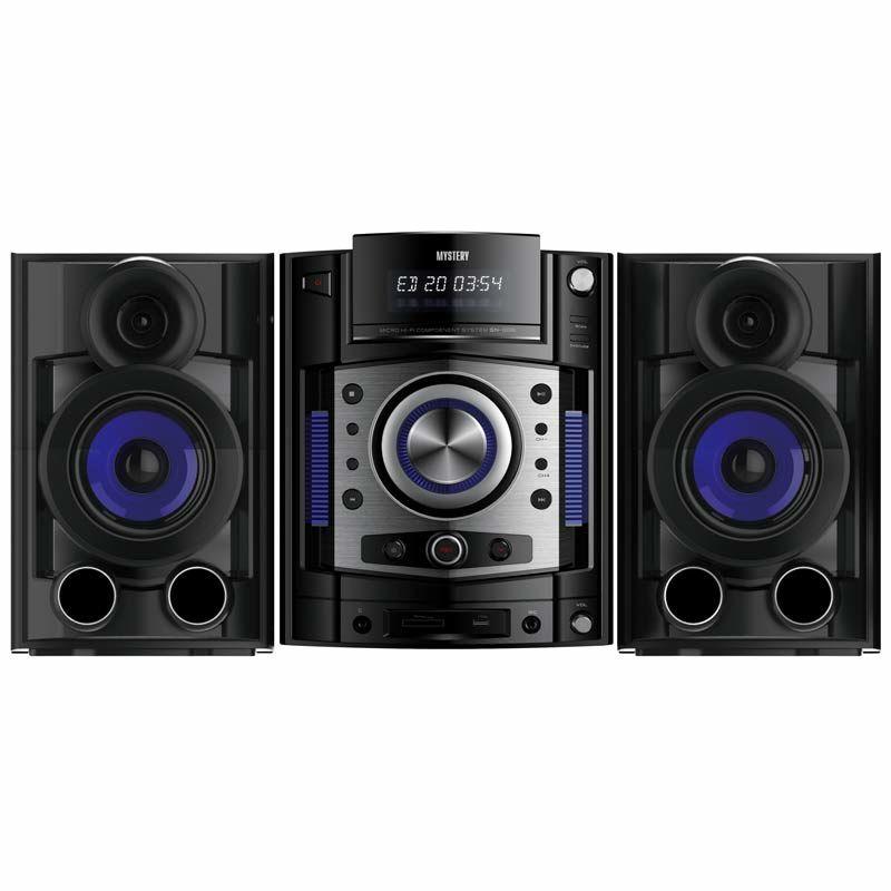 Минисистема Mystery MMK-930UB черный 150Вт/CD/CDRW/DVD/DVDRW/FM/USB/BT/SD (отремонтированный)