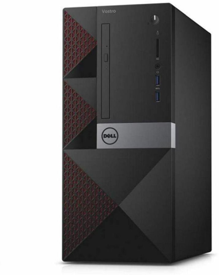 Компьютер DELL Vostro 3667, Intel Core i5 6400, DDR4 4Гб, 1000Гб, Intel HD Graphics 530, DVD-RW, CR, Linux, черный [3667-8145] ноутбук dell vostro 3558 15 6 1366x768 intel pentium 3825u 500 gb 4gb intel hd graphics черный linux 3558 4483