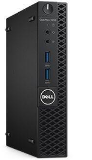 Компьютер  DELL Optiplex 3050,  Intel  Core i5  7500T,  DDR4 8Гб, 256Гб(SSD),  Intel HD Graphics 630,  Windows 10 Professional,  черный [3050-8275]