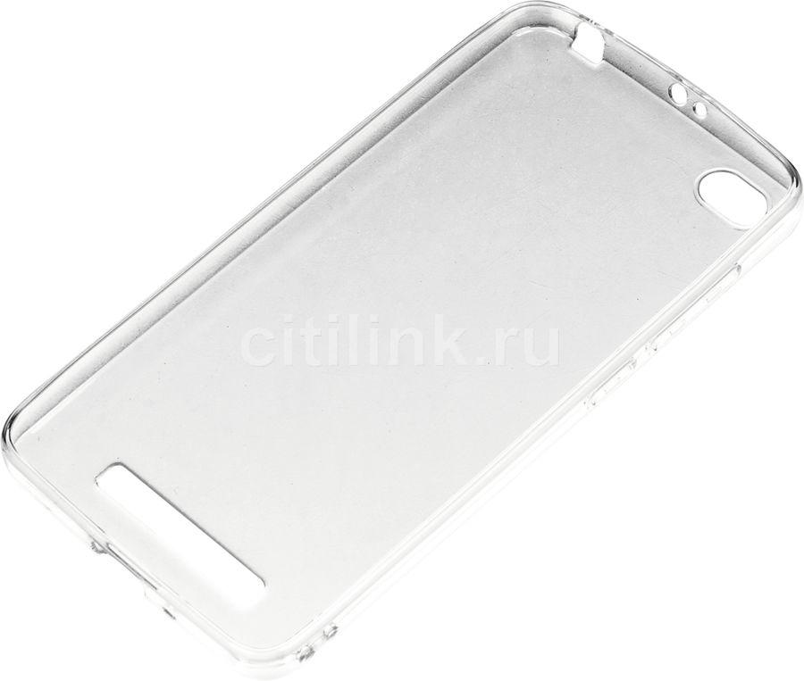 Чехол (клип-кейс) DF xiCase-08, для Xiaomi Redmi 4a, прозрачный