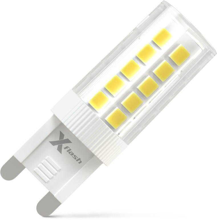 Лампа X-FLASH Finger XF-G9-44-C-3W-3000K-230V, 3Вт, 300lm, 50000ч,  3000К, G9,  1 шт. [47710]
