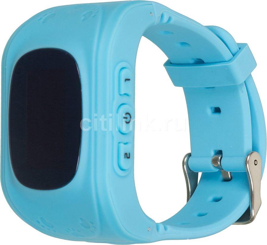 """Смарт-часы КНОПКА ЖИЗНИ K911,  0.64"""",  голубой / голубой [9110103]"""