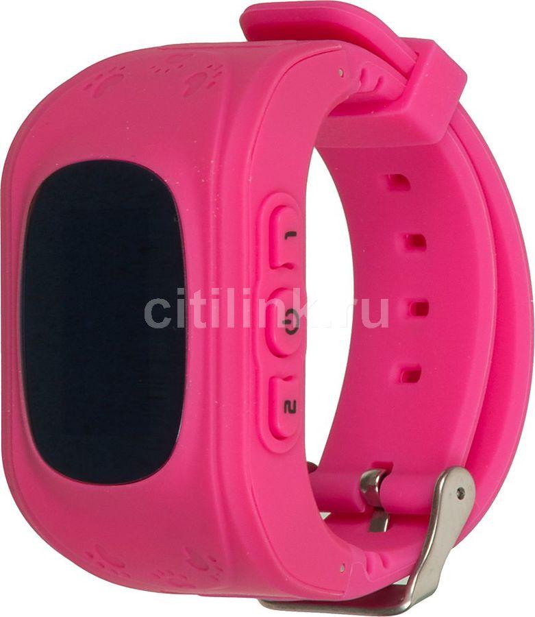 """Смарт-часы КНОПКА ЖИЗНИ K911,  0.64"""",  розовый / розовый [9110102]"""