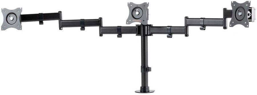 """Кронштейн для мониторов Arm Media LCD-T15 черный 15""""-32"""" макс.30кг настольный поворот и наклон верт."""