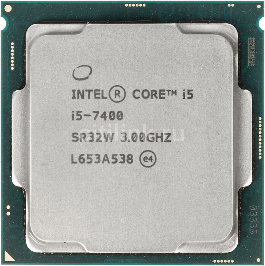 Процессор INTEL Core i5 7400, LGA 1151,  OEM