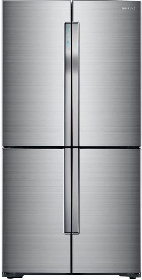 Холодильник SAMSUNG RF61K90407F,  трехкамерный, нержавеющая сталь [rf61k90407f/wt]