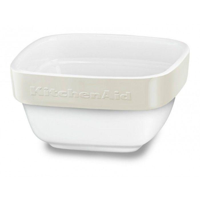 Форма для выпечки KitchenAid KBLR04RMAC прямоуг. 10x10см керамика бежевый
