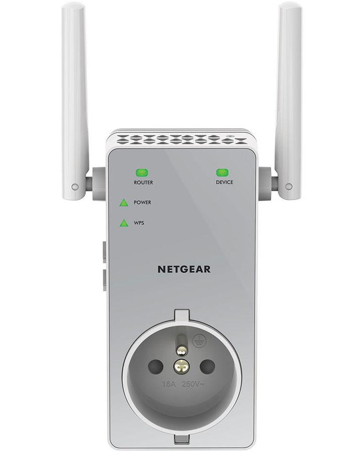 Повторитель беспроводного сигнала NETGEAR EX3800-100PES,  белый
