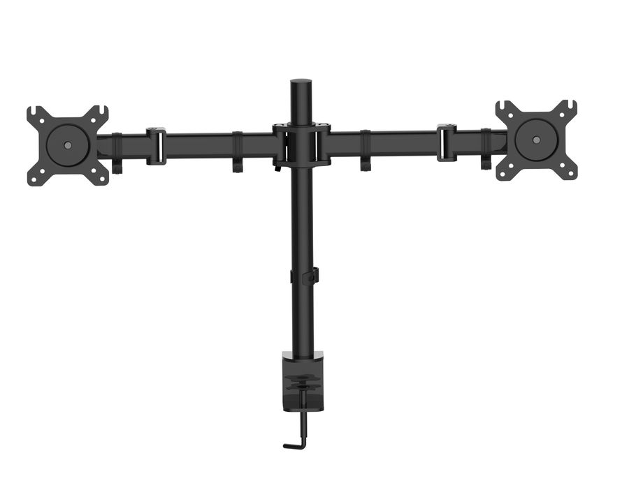 """Кронштейн для мониторов Cactus CS-VM-D29-BK черный 13""""-27"""" макс.10кг настольный поворот и наклон"""
