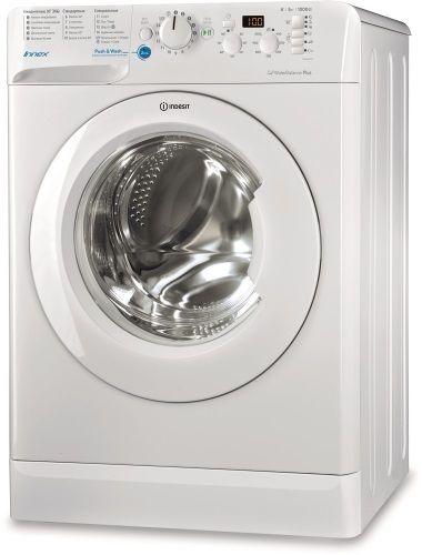 Стиральная машина INDESIT Innex BWSD 51051, фронтальная загрузка,  белый