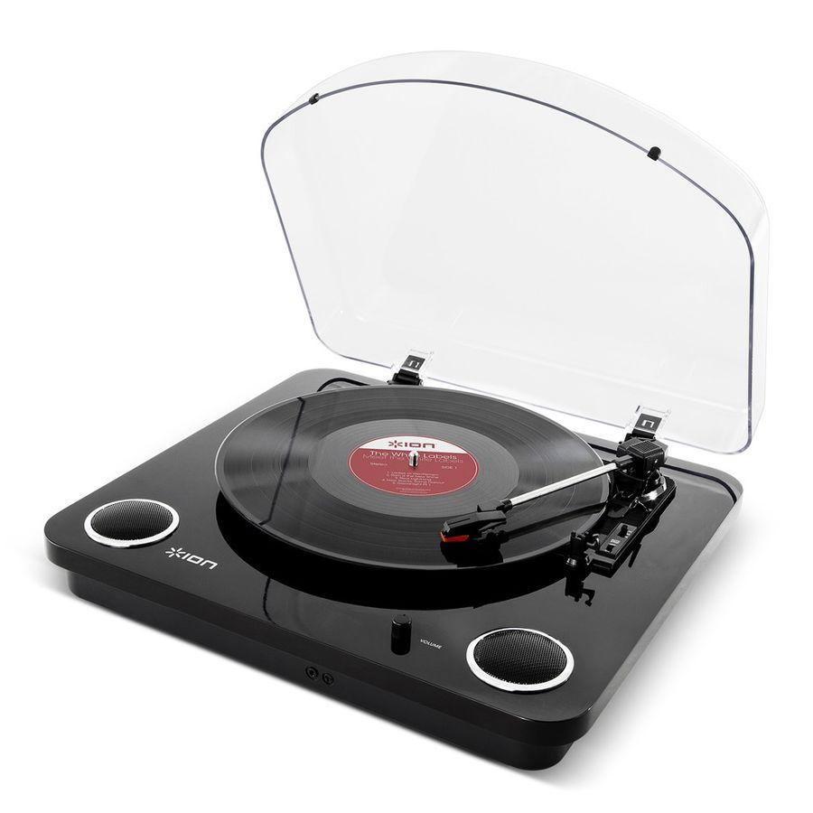 Проигрыватель винила ION Audio MAX LP частично автоматический черный [max lp black]
