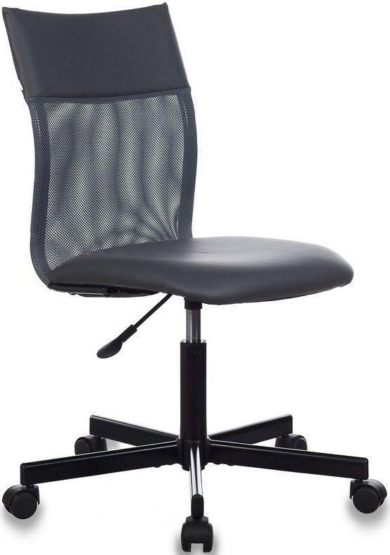 Кресло БЮРОКРАТ CH-1399, на колесиках, искусственная кожа, серый [ch-1399/grey]
