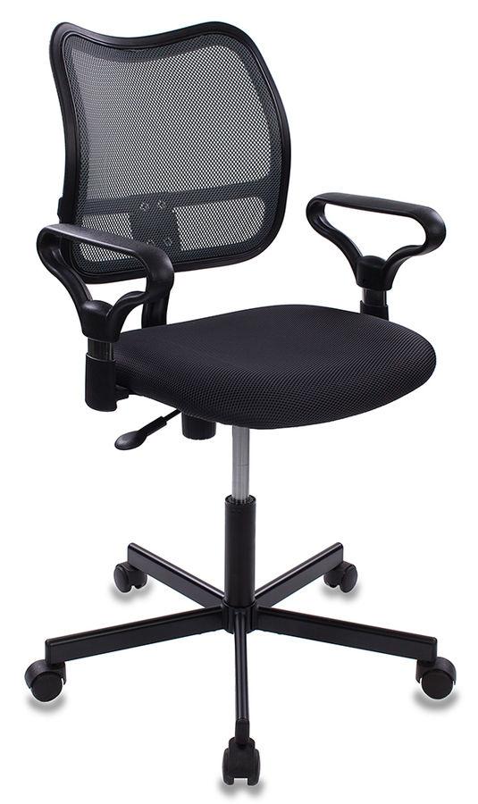 Кресло БЮРОКРАТ CH-799M, на колесиках, ткань, серый [ch-799m/dg/tw-12]