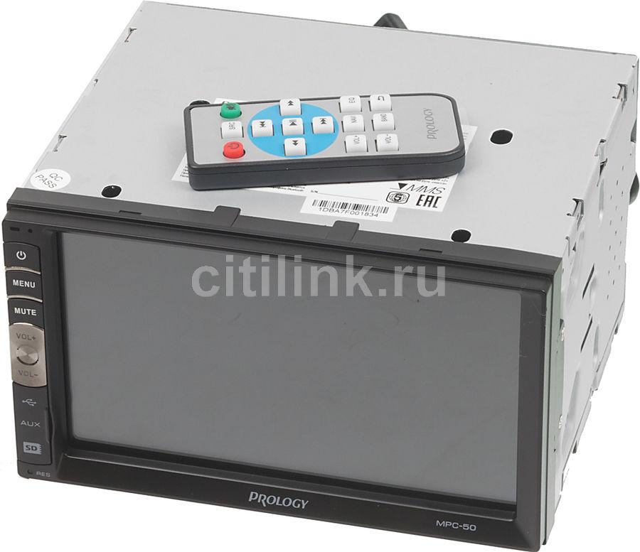 Автомагнитола PROLOGY MPC-50,  USB,  microSD