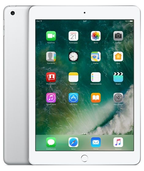 Планшет APPLE iPad 32Gb Wi-Fi + Cellular MP1L2RU/A, 2GB, 32GB, 3G, 4G, iOS серебристый apple ipad 3 32gb wifi