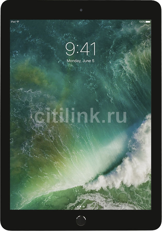 Планшет APPLE iPad 32Gb Wi-Fi MP2F2RU/A, 2GB, 32GB, iOS темно-серый apple ipad 3 32gb wifi