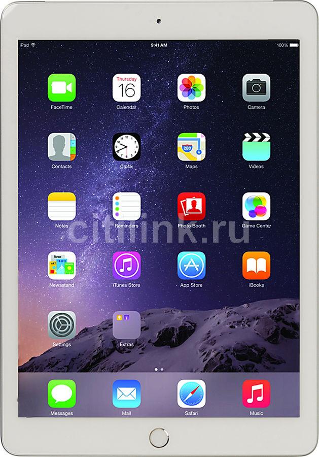 Планшет APPLE iPad 128Gb Wi-Fi + Cellular MP272RU/A,  2GB, 128GB, 3G,  4G,  iOS серебристый
