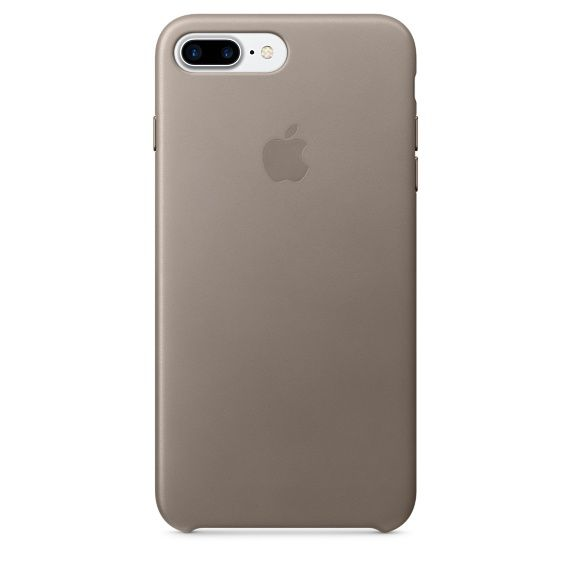 Чехол (клип-кейс) APPLE MPTC2ZM/A, для Apple iPhone 7 Plus, платиновый